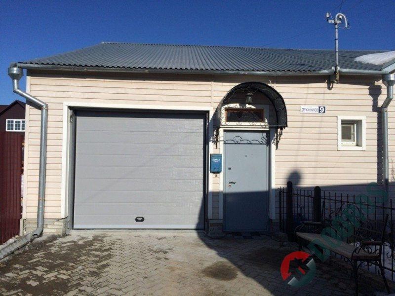 Сдвижные ворота с автоматикой doorhan