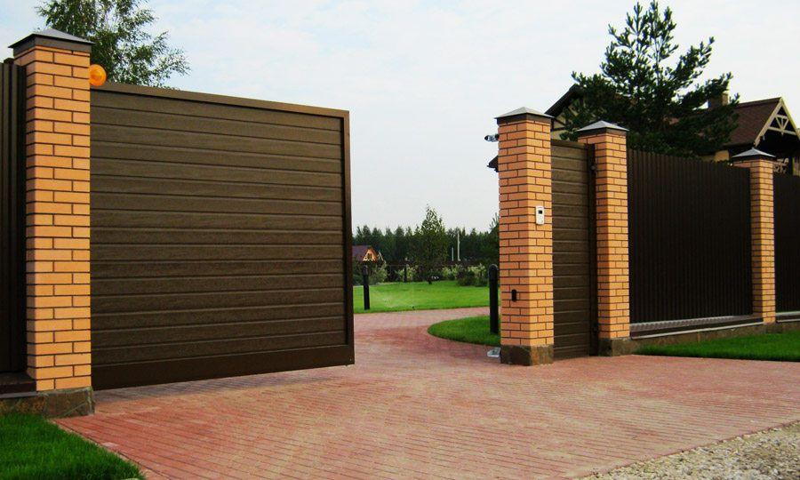 Варианты ворот фото заказать автоматические распашные ворота подробнее