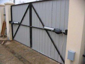 Электропривод ворот екатеринбург ворота с врезанной калиткой